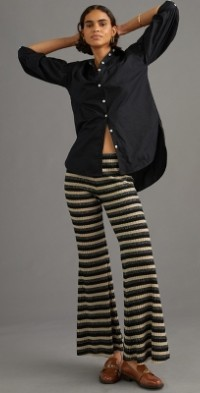 Anna Sui Shimmer Knit Pants