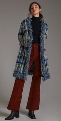 Anna Sui Tartan Coat