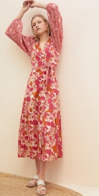 Flavia Wrap Maxi Dress