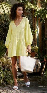 Agatha Cover-Up Tunic Dress