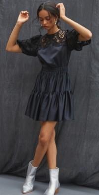 Delfi Lace Mini Dress