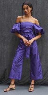 Delfi Off-The-Shoulder Jumpsuit