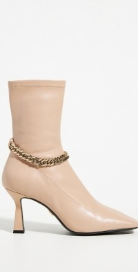 Lola Cruz Berta Leather Heeled Boots