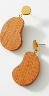Sophie Monet Bean Drop Earrings
