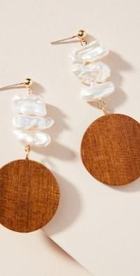 Sophie Monet Mira Pearl Drop Earrings