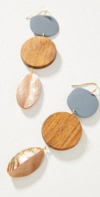 Sophie Monet Podette Drop Earrings