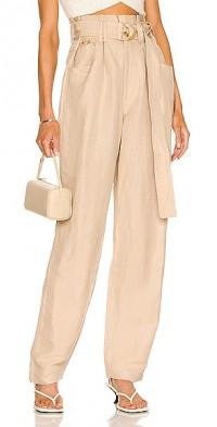 Paperback Linen Pant