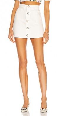 Cotton Drill Mini Skirt