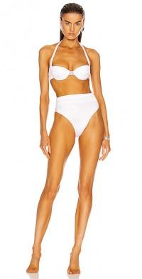 Ruched Waist Bikini Set