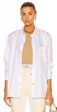 Longerline Cotton Shirt