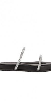 Fontanta Crystal Flat Sandal