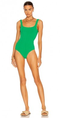 Square Neck Nile One Piece Swimsuit