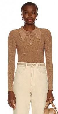 Long Sleeve Polo Sweater