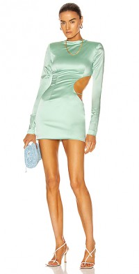 Side Cutout Mini Dress