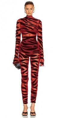 Tiger Print Catsuit