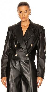 Kadmat Leather Blazer