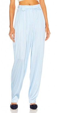 Tapered Silk Pant