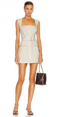 for FWRD Apron Cargo Mini Dress