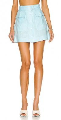 for FWRD Cargo Linen Mini Skirt