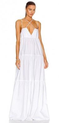 for FWRD Cross Strap Maxi Dress