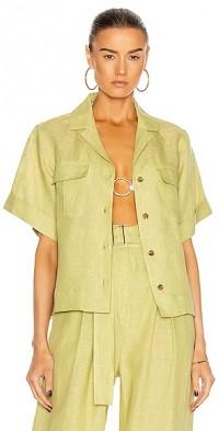 Safari Linen Camp Shirt