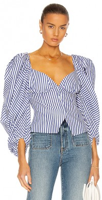 Madame Butterfly Bustier Top