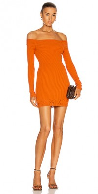 Ajour Mini Knit Dress