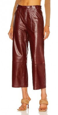 Culotte Leather Pant