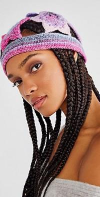 Anna Sui Star Crochet Ombre Hat