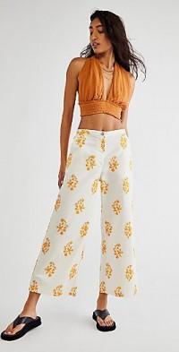Orlando Marigold Pants