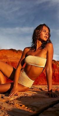 Breeze Smocked Bikini Top