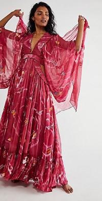 Madam Butterfly Maxi Dress