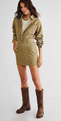 Shona Joy Chiara Utility Mini Dress