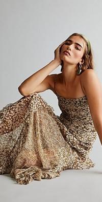 Shona Joy Claudette Ruched Frill Dress