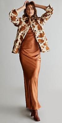 Shona Joy Laced Back Maxi Dress