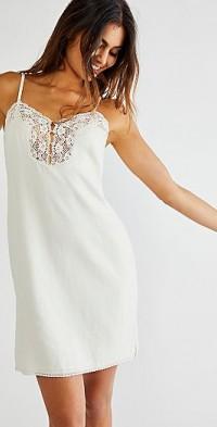 Spell Linen Slip Dress