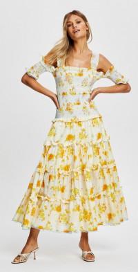 Cinnamon Girl Midi Dress