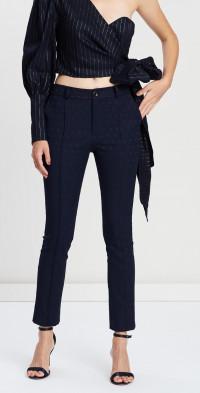 Pintuck Detail Pants