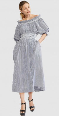 June Off Shoulder Dress