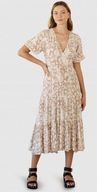 Angelina Midi Dress