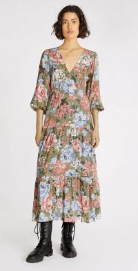 Darcia Tiered Midi Dress