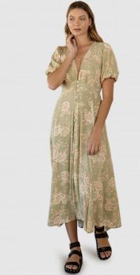 Lani Floral Maxi Dress