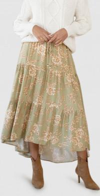Lani Floral Maxi Skirt