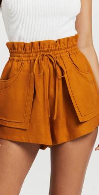 Aria Paperbag Shorts