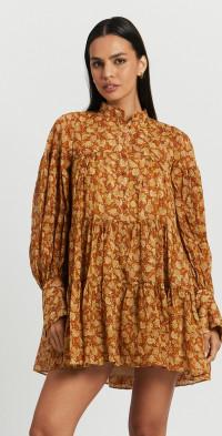 Arizona Tiered Mini Dress