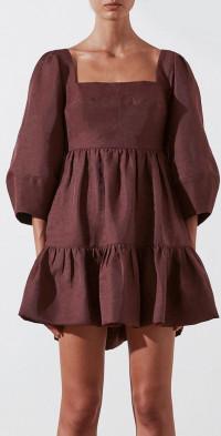 Marlene Open Back Mini Dress