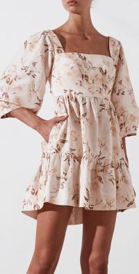 Roxane Open Back Mini Dress