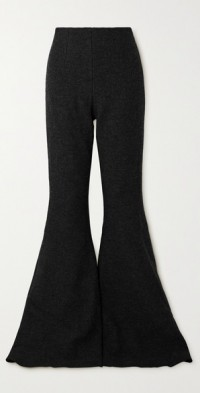 Brisbane wool flared pants
