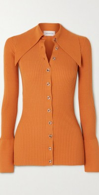 Liyu ribbed-knit cardigan