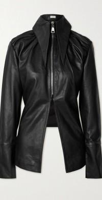 Paria leather blazer